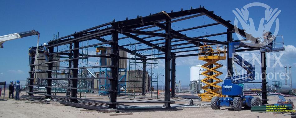 Estructuras met licas fenix aplicadores - Estructura de metal ...